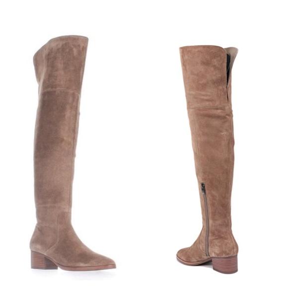 233d8c6b232 Via Spiga Ophira Over the Knee Suede Boot. M 5c288298fe51510b68629f0c